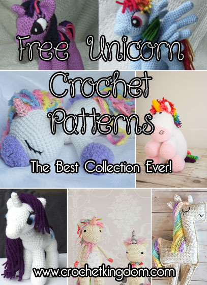 Free Unicorn Crochet Patterns The Best Collection Ever Crochet