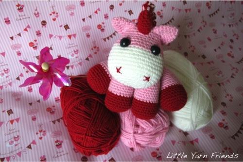 Free Unicorn Crochet Patterns little unicorn pattern