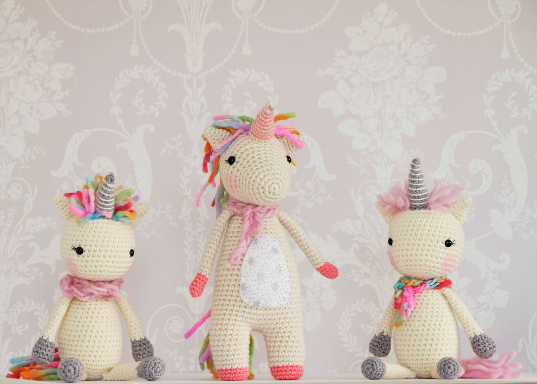 Free Unicorn Crochet Patterns - The Best Collection Ever! ⋆ Crochet ...