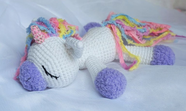Unicorn Amigurumi crochet - YouTube | 458x768