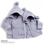 Bernat Big Kid Cozy Crochet Hoodie