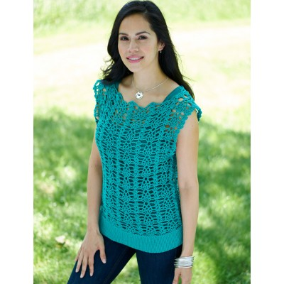 Bernat You Tunic Me On Free Crochet Pattern