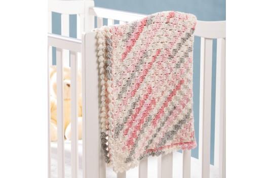 Building Blocks Blanket Free Crochet Pattern for Baby