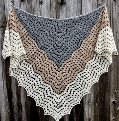 Crochet Shawl Pattern Diagrams