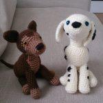 Dalmatian and German Shepherd Free Amigurumi Dog Crochet Pattern