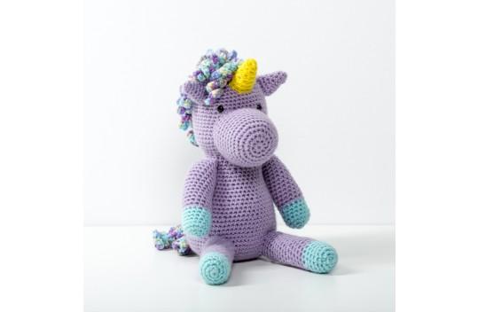 Jannie The Unicorn Free Crochet Pattern