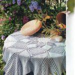 Modern Lace Tablecloth Crochet Pattern