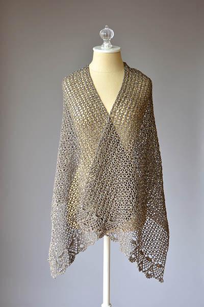North Window Stole Free Crochet Pattern