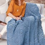 Renaissance Beauty Throw Free Crochet Pattern