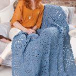 Renaissance Beauty Throw Free Crochet Pattern