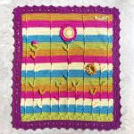 Sunflower Baby Blanket Free Crochet Pattern