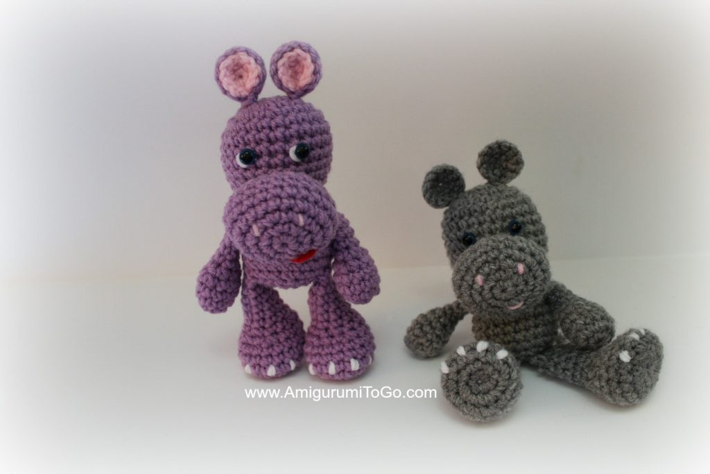 The OG LBF Hippo Free Amigurumi Crochet Pattern