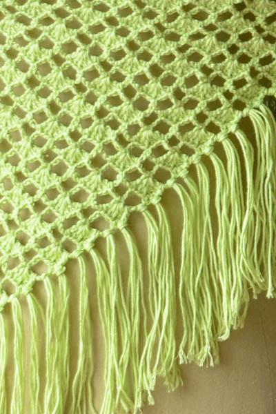 Vane Shawl Free Crochet Pattern