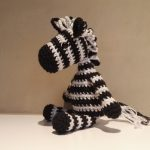 Zaza the Zebra Free Amigurumi Crochet Pattern