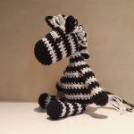 Zaza the Zebra Free Amigurumi Crochet Pattern