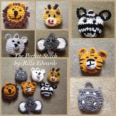 Zoo Animals Softies Free Crochet Pattern