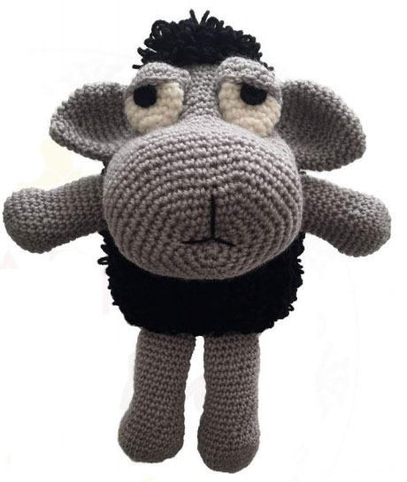 Black Sheep Free Crochet Pattern