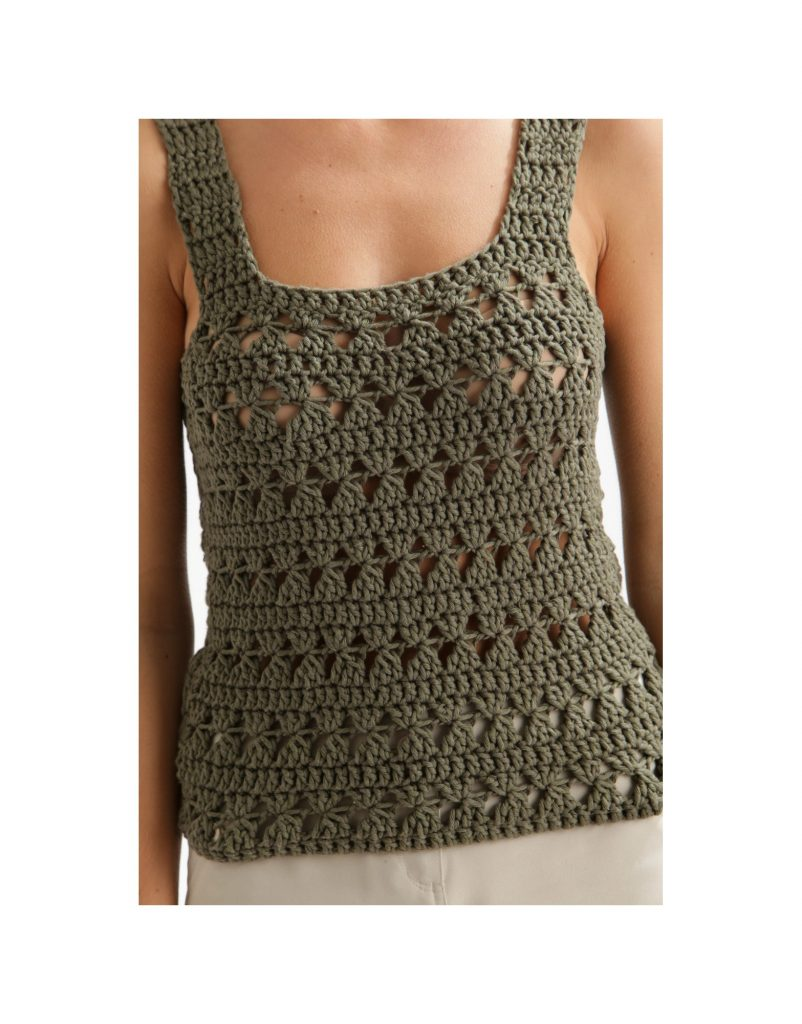 Cute Tank Top Free Crochet Pattern