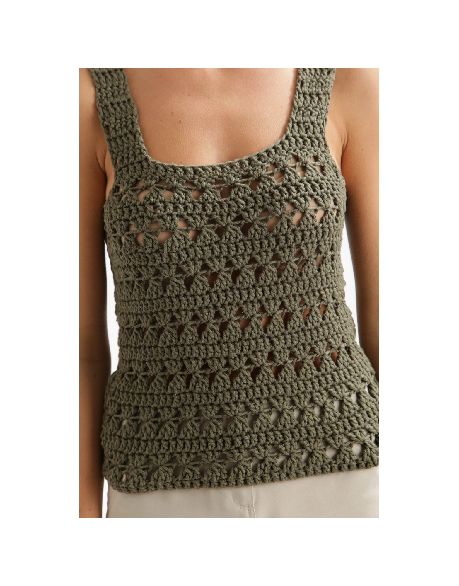 Cute Tank Top Free Crochet Pattern Crochet Kingdom