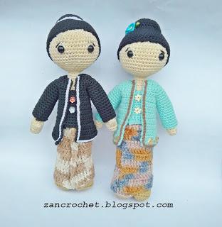 Kartini Doll Free Crochet Amigurumi Pattern