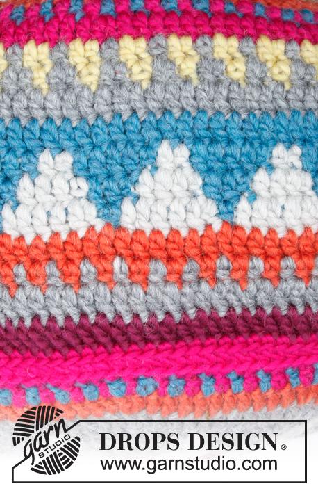 Marrakesh Free Crochet Pouffe Pattern