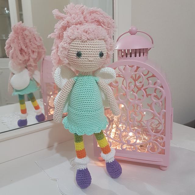 Bonbon the Fairy Free Crochet Pattern
