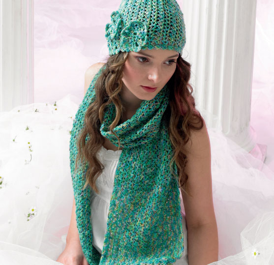 Crochet Hat and Scarf Set Free Pattern ⋆ Crochet Kingdom
