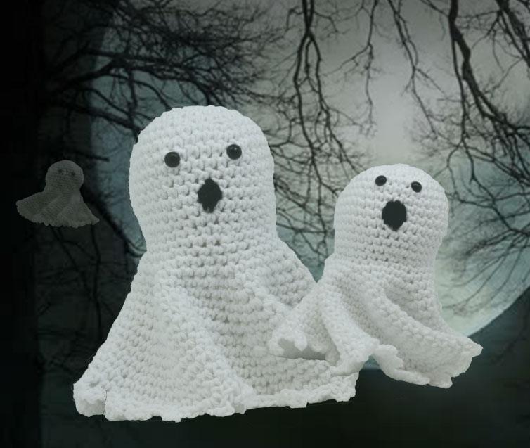 Halloween Ghost Free Crochet Pattern