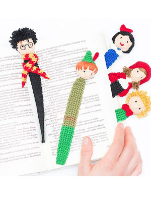 Harry Potter Crochet Bookmarks Free Pattern