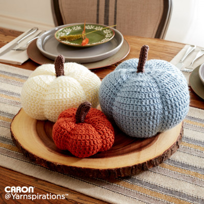 Harvest Crochet Pumpkins Free Pattern