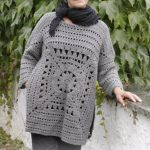 Magic Square Sweater Free Crochet Pattern