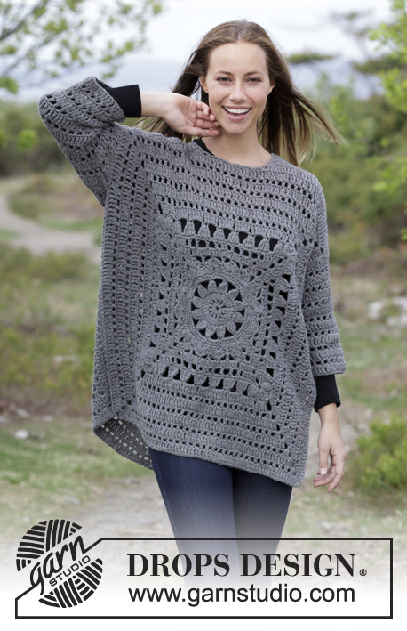 Magic Square Sweater Free Crochet Pattern ⋆ Crochet Kingdom