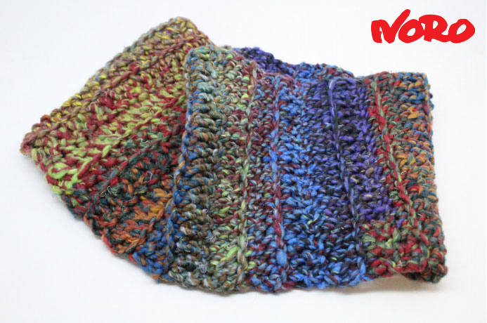 One skein Noro Ginga Crochet Cowl Free Pattern