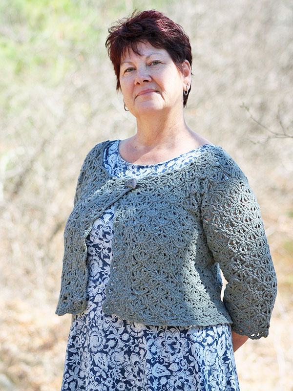 Serge Cropped Cardigan Free Crochet Pattern Crochet Kingdom