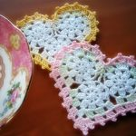Three Circle Crochet Heart Pattern Free