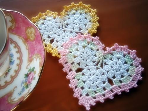 Three Circle Crochet Heart Pattern Free