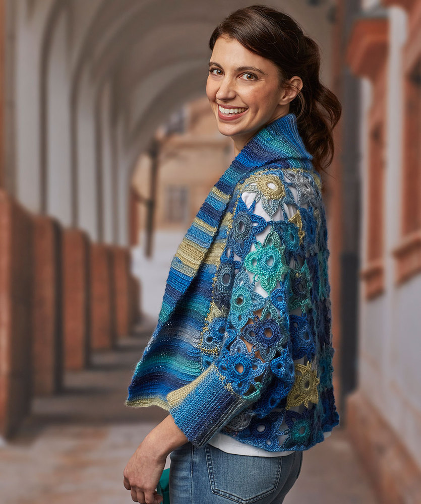 Crochet Cardigan Patterns With Collars Archives Crochet Kingdom