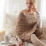 Cherie Lace Shawl Free Crochet Pattern