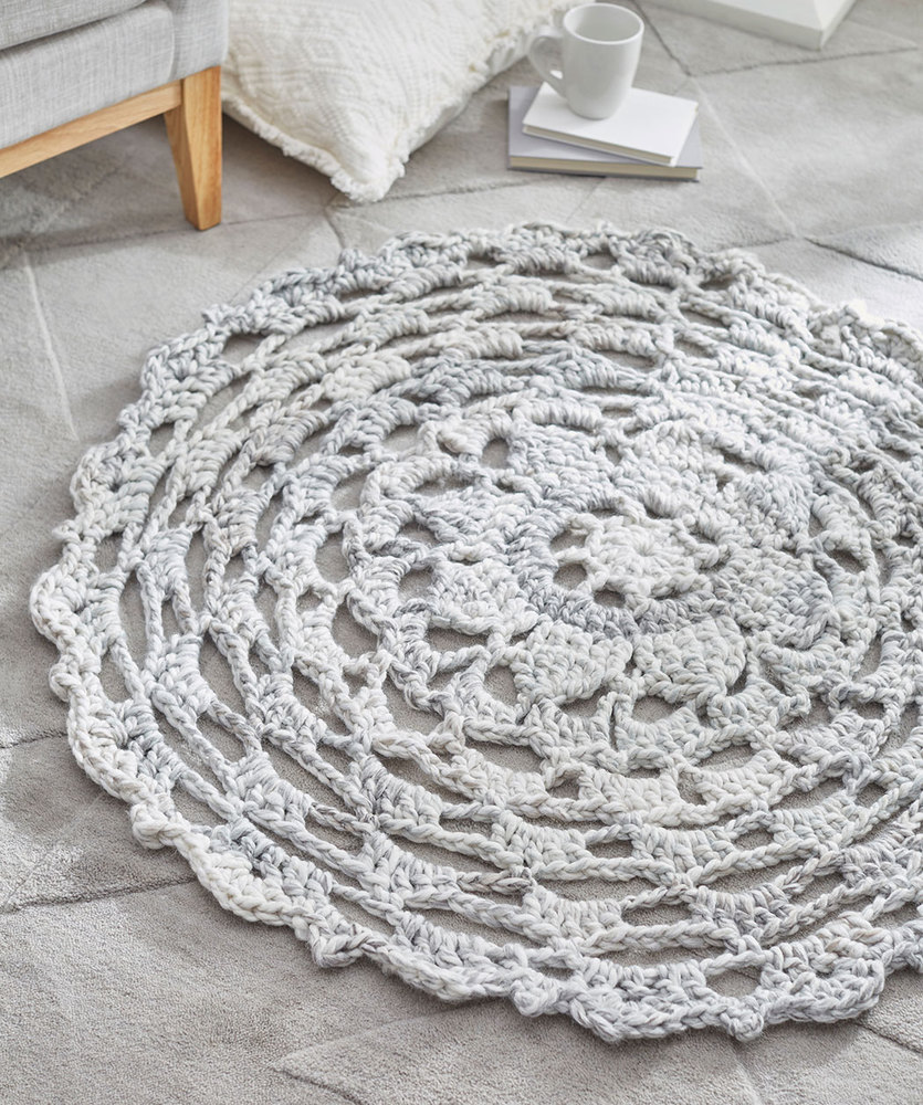 Comforting Rug Free Crochet Pattern
