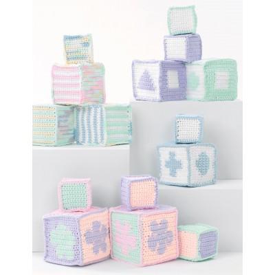 Baby's Blocks Free Crochet Pattern