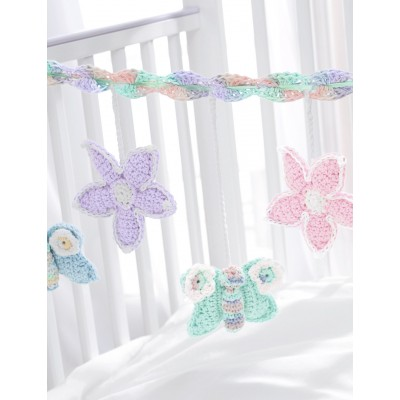 Baby's Crib Mobile Free Crochet Pattern