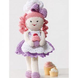 Baker Lily Doll Free Crochet Pattern