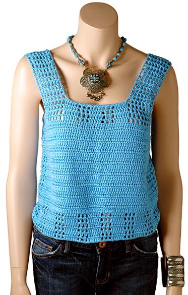Beth Tank Free Crochet Pattern