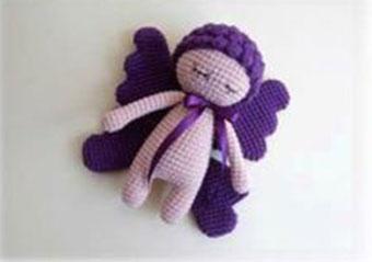 Crochet Pattern Doll : Butterfly doll free crochet pattern ⋆ crochet kingdom