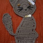 Cat Applique Crochet Pattern