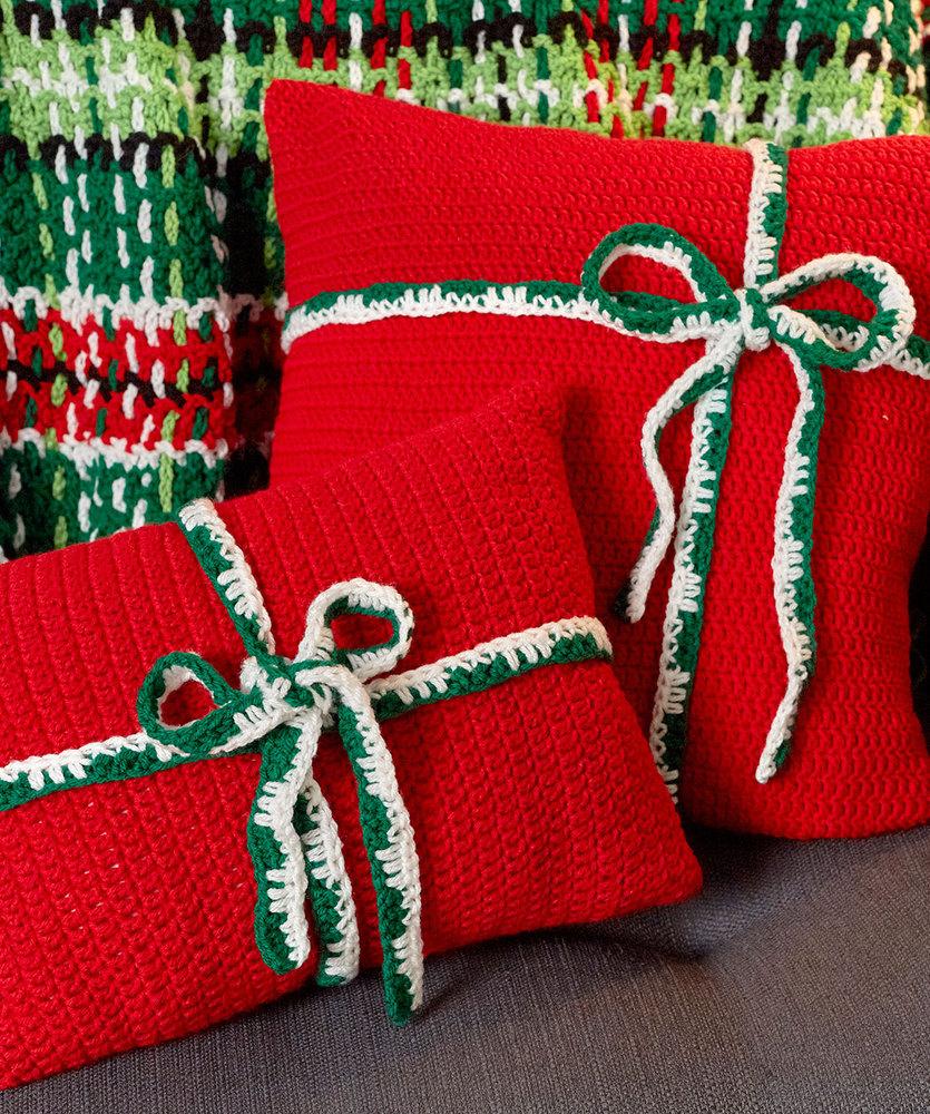 Crochet Gift Pillows Free Pattern