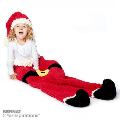 Dear Santa Crochet Sack & Hat Free Crochet Pattern