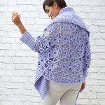 Granny Lace Crochet Cardigan Free Pattern