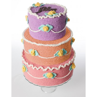 free crochet cake patterns Archives ⋆ Crochet Kingdom (12 free ...