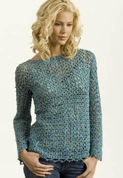 Muse Crochet Tunic Free Pattern